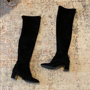Tory Burch Laila over the knee boots